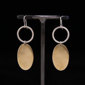 OOBY Brass Earrings
