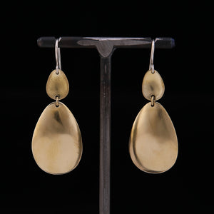 DOAL Earrings Brass