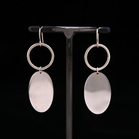 OOBY Sterling Silver Earrings