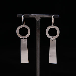 ROOBY Sterling Silver Earrings
