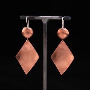 DIA Earrings Copper