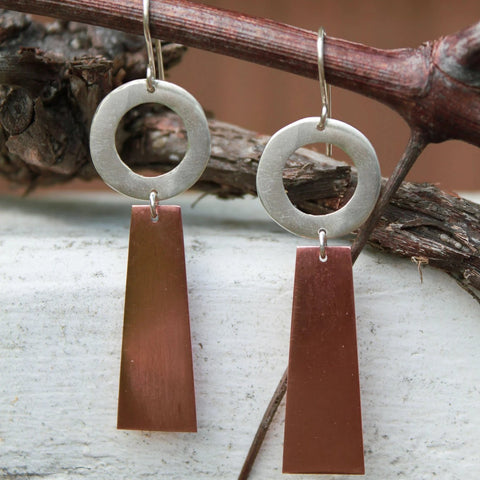ROOBY Copper Earrings