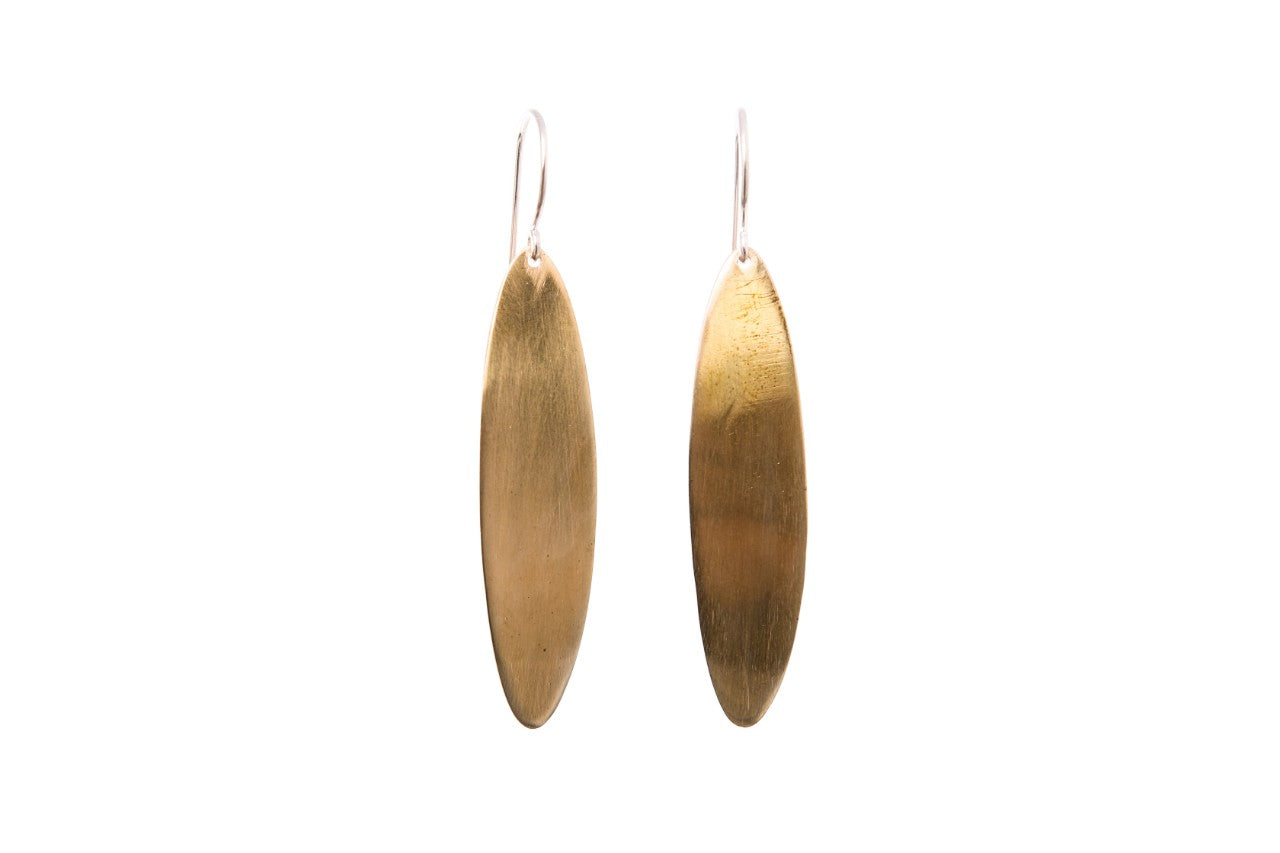 SHIMMY Earrings Brass