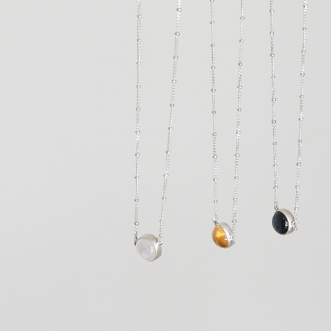 JOVI Sterling Silver Citrine Necklace