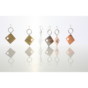 RAZZ Copper Earrings