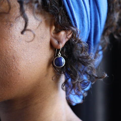 BE Earrings Lapis Lazuli