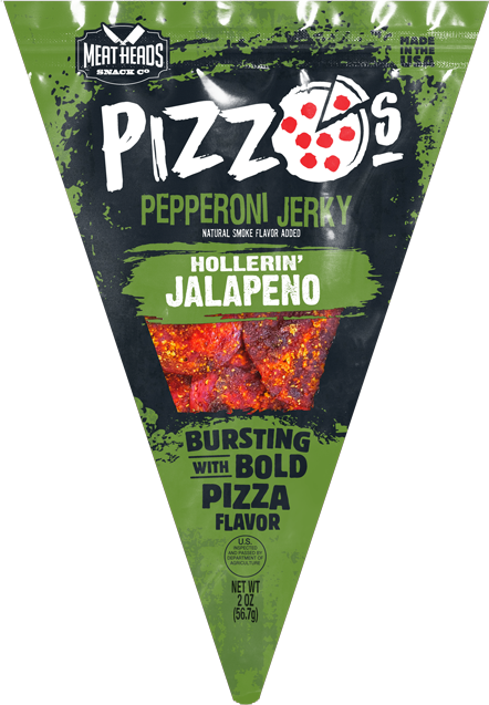 "Pizzo's ""Hollerin' Jalapeno"" Pizza Style Pepperoni Jerky"