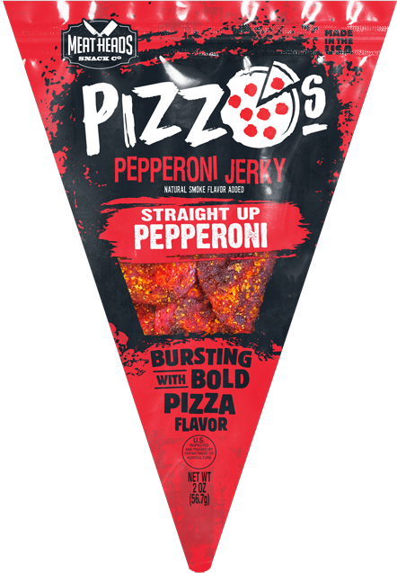 "Pizzo's ""Straight Up Pepperoni"" Pizza Style Pepperoni Jerky"