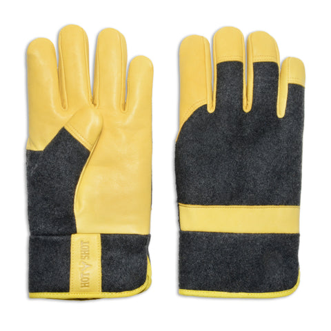 """Utility"" Leather & Wool Work Glove"
