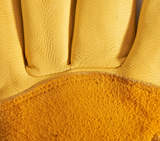 """Utility"" Lined Leather & Ribbed Spandex Work Glove"