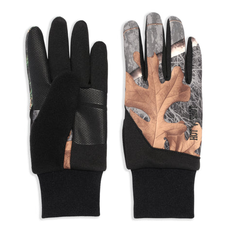 """Eagle"" Stretch Fleece Glove - Realtree® Exclusives - Black"
