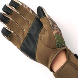 """Axel"" Stretch Fleece Touch Bow Glove - Realtree"