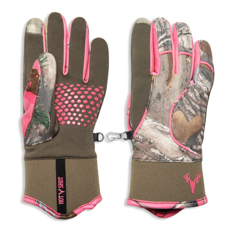 "Ladies' ""Doe"" Stretch Fleece Insulated Touch Glove"