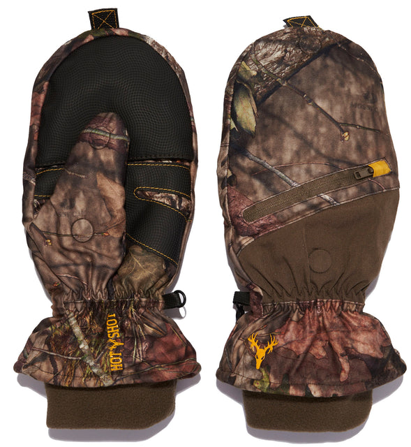 """Huntsman"" Pop-top Mitten - Mossy Oak® Break-Up Country®"