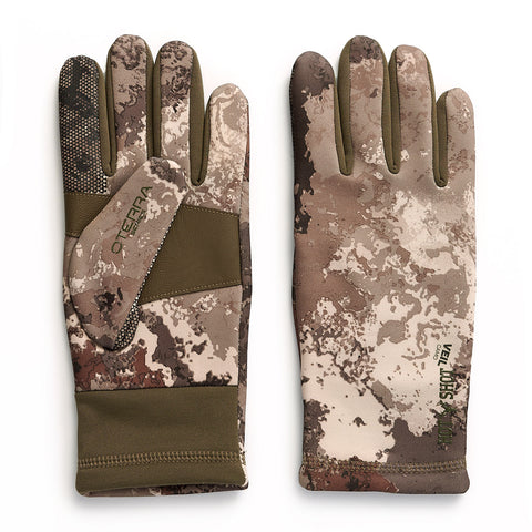 """Guardian"" Stretch Fleece Touch Glove - Veil Camo™ -Alpine"