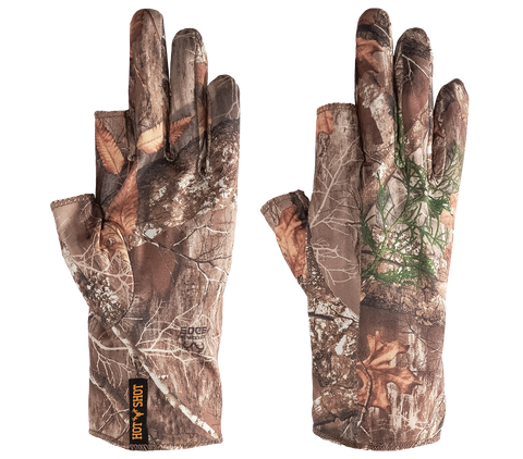 """Copperhead"" Single Seam 3 Finger Glove - Realtree® EDGE™"