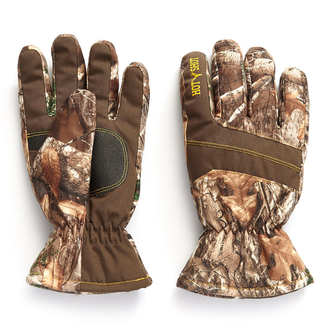 "Youth ""Defender"" Core Hunting Glove - Yellow/Realtree EDGE®"