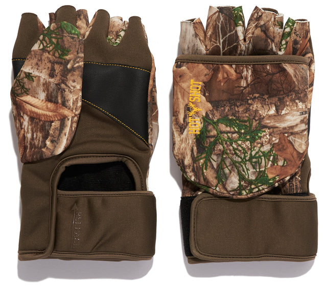 """Buckshot"" Archery Pop-Top Mitten - Realtree EDGE®"