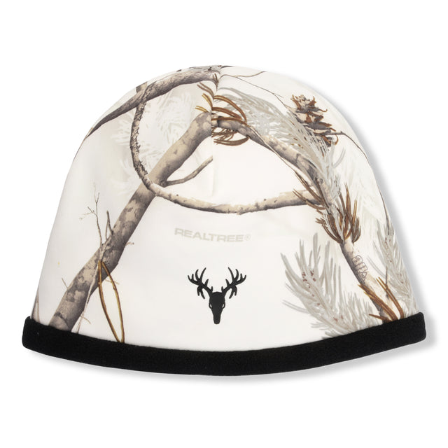 """Mustang"" Reversible Beanie - Realtree® Snow/Black"