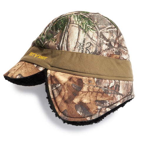 "Youth ""Hawk"" Lined Earflap Hat - Realtree Xtra®"
