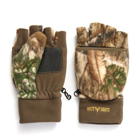 "Youth ""Bulls-eye"" Pop-Top Mitten - Realtree Edge®"
