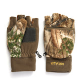 """Bulls-eye"" Fuzzy Fleece Fingerless Pop-Top - Realtree Edge®"