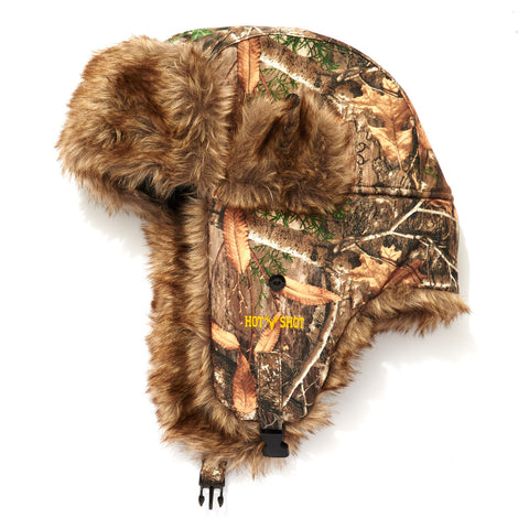 """Sabre"" Brushed Tricot Trapper - Realtree® EDGE™"