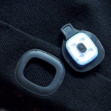 """Lightning"" Rechargeable LED Cuff Cap"
