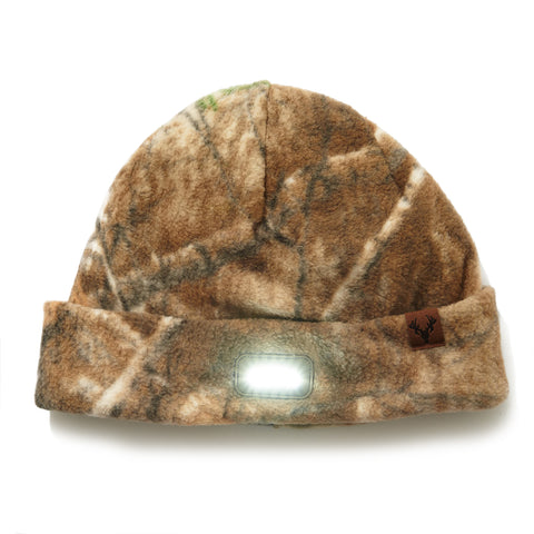 """Vigilante"" Lighted Knit Cuff Cap  - Realtree EDGE®"
