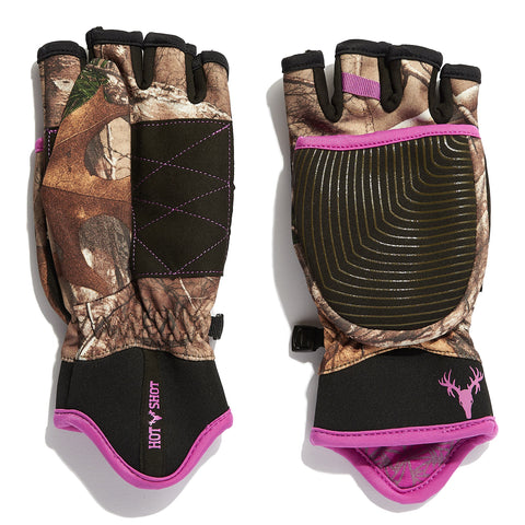 "Ladies' ""Phase"" ThermalCHR™ Pop-Top Mitten - Realtree Xtra®"
