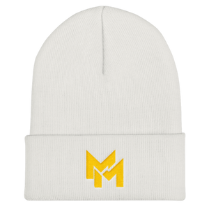 Limited Gold Beanie (white)