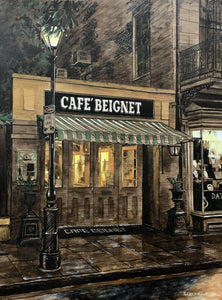"""Cafe Beignet"" by Keith Oelschlager"