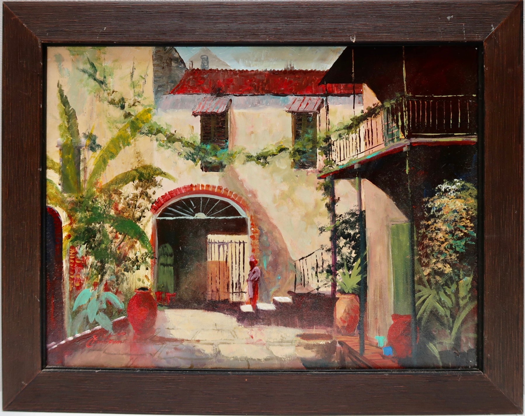 """New Orleans Courtyard"""