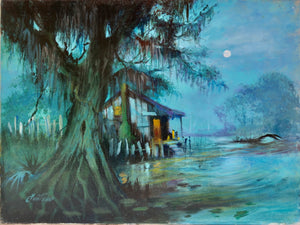 """Blue Bayou"" by Stan Fontaine"