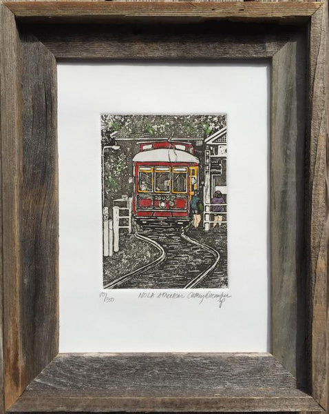 """NOLA Streetcar"" by Cathey December"
