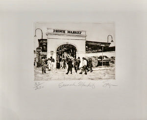 French Market by Phillip Sage