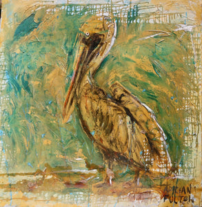 """Singing Pelican"" by Adrian Fulton"