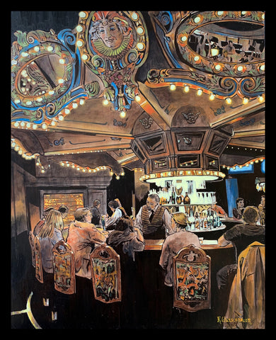 """Carousel Bar"" by Keith Oelschlager"