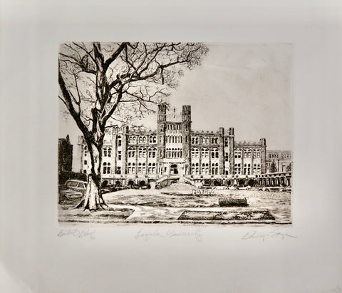Loyola University Artist Proof by Phillip Sage