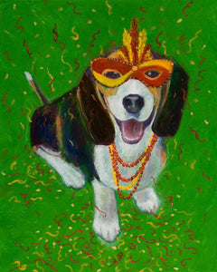 Mardi Gras Mutts: Beagle