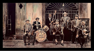 """Preservation Hall Lineup"" by Keith Oelschlager"