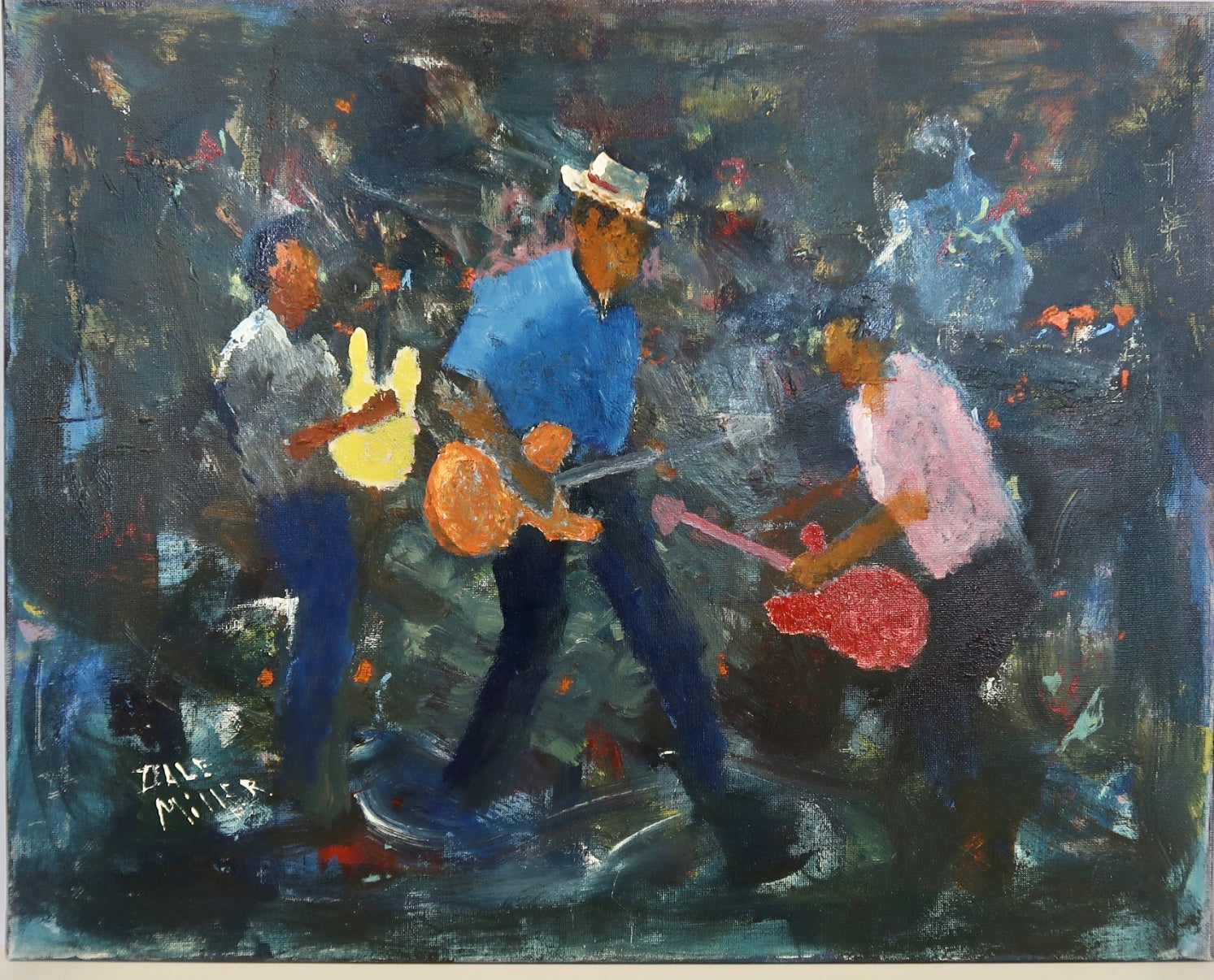"""Moving Musicians III"" by Dale Miller"