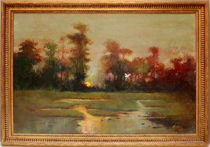 """Bayou Sunset"" by  Stan Fontaine"
