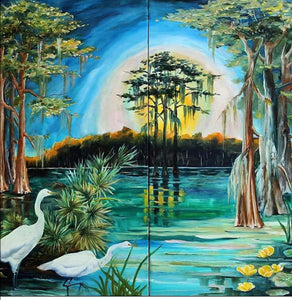 """Louisiana Swampland"" by Diane Millsap"