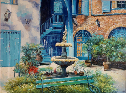 """Courtyard"" by Barry Ma"