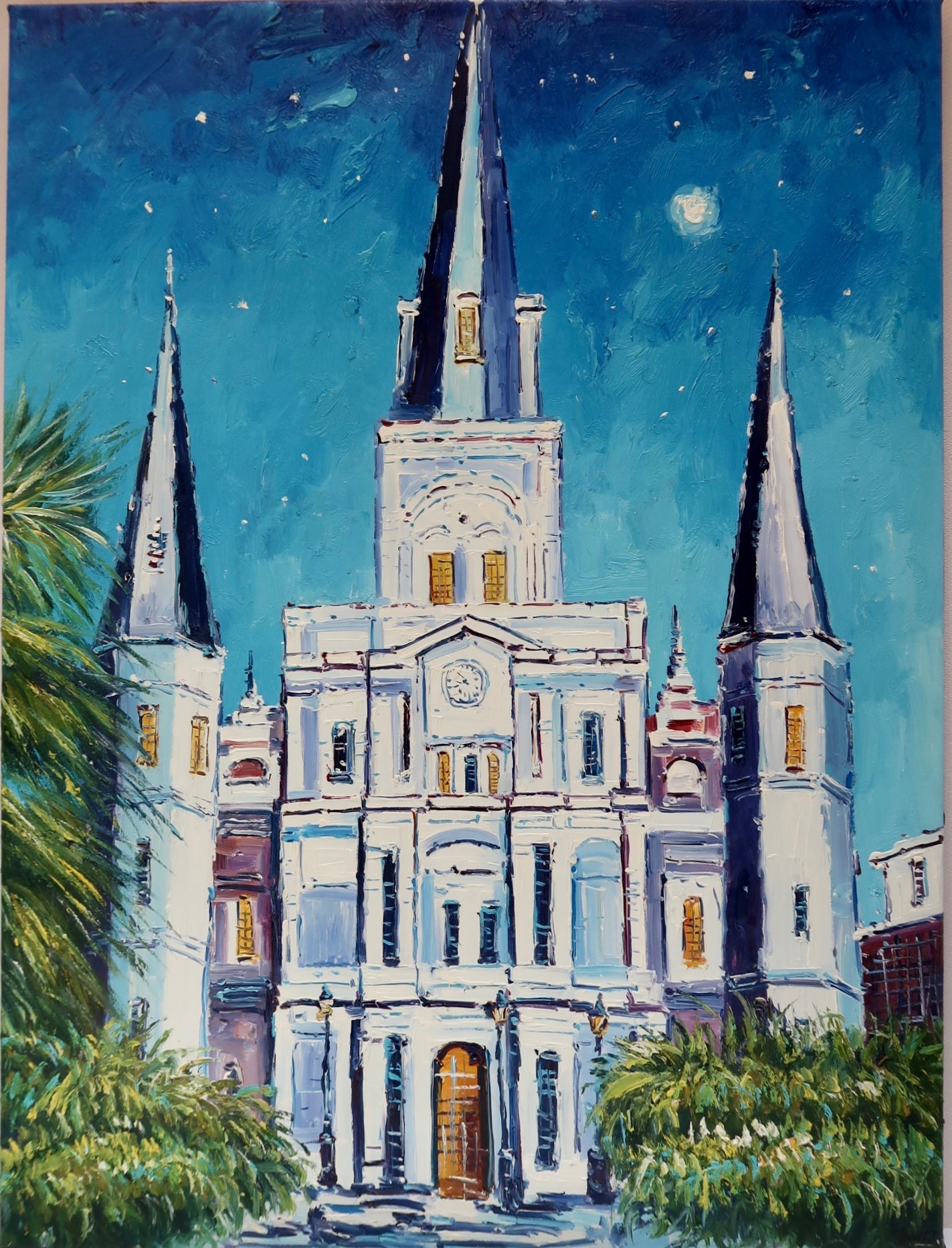 """St. Louis Cathedral"" by Barry Ma"
