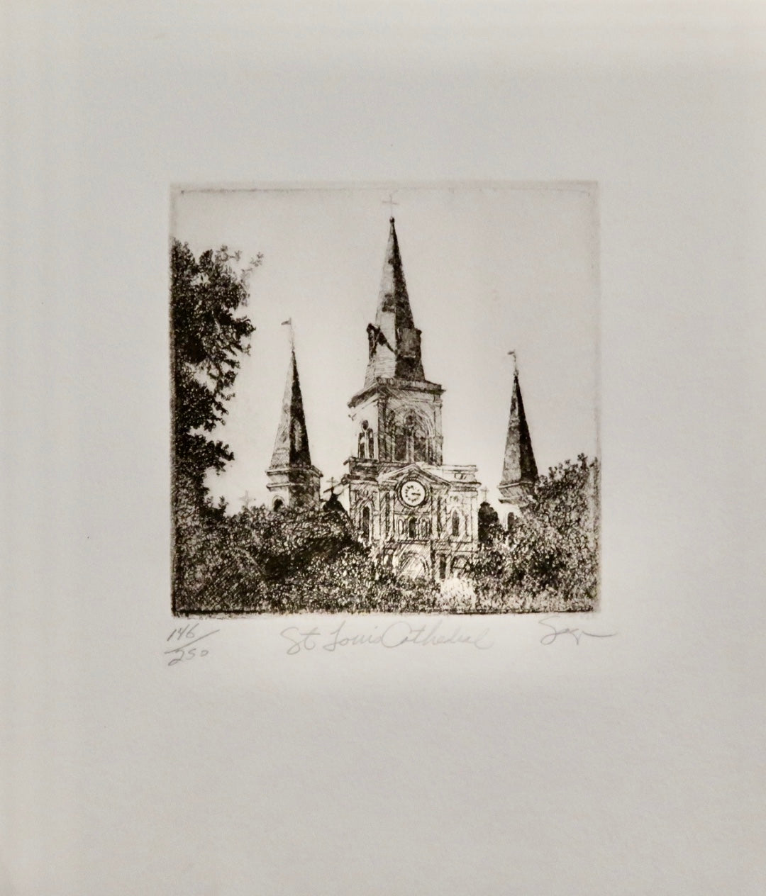St. Louis Cathedral by Phillip Sage