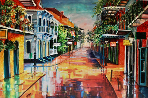 """Summer Day On Royal Street"" by Diane Millsap"