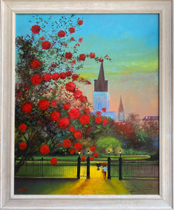 """Everlasting Love Couple In Cathedral"" by Stan Fontaine"