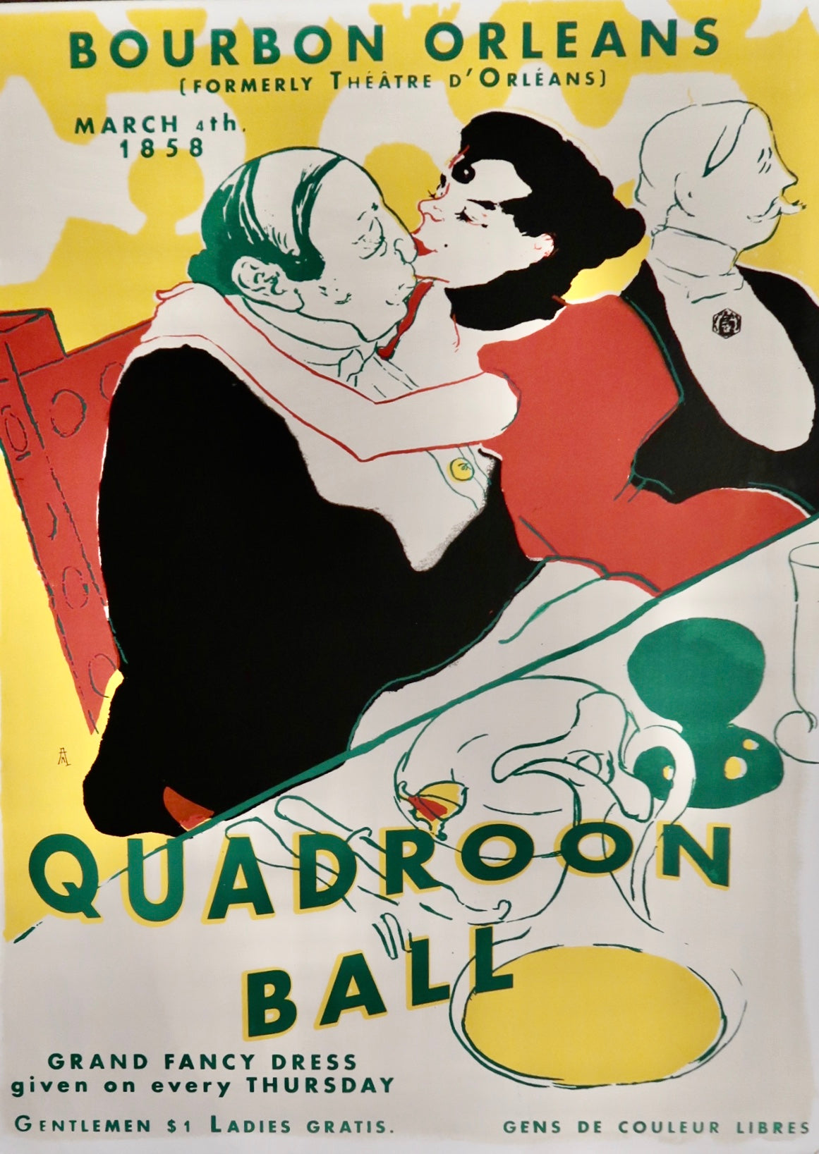 Quadroon Ball Poster